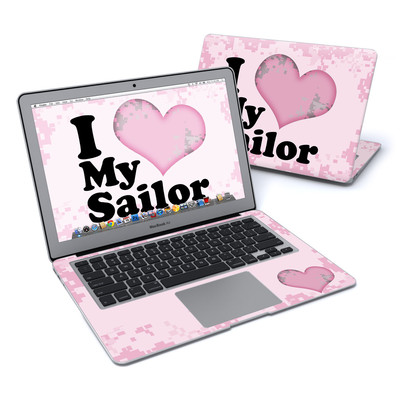 MacBook Air 13in Skin - I Love My Sailor