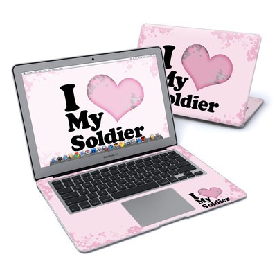 MacBook Air 13in Skin - I Love My Soldier