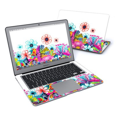 MacBook Air 13in Skin - Intense Flowers