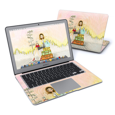 MacBook Air 13in Skin - The Jet Setter