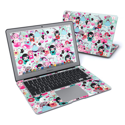MacBook Air 13in Skin - Kimono Cuties