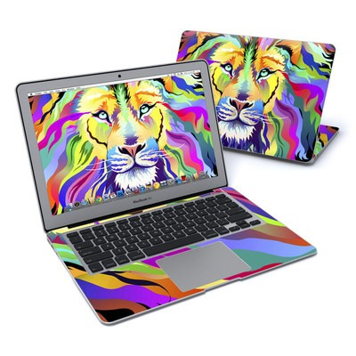 MacBook Air 13in Skin - King of Technicolor