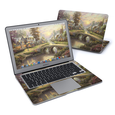 MacBook Air 13in Skin - Sunset On Lamplight Lane