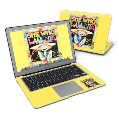 MacBook Air 13in Skin - She Who Laughs