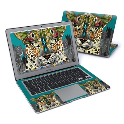 MacBook Air 13in Skin - Leopard Queen
