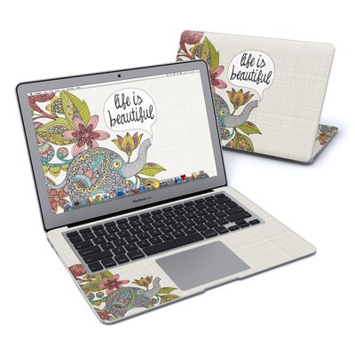 MacBook Air 13in Skin - Life is Beautiful