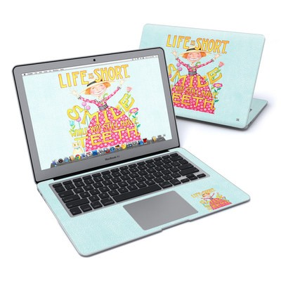 MacBook Air 13in Skin - Life is Short