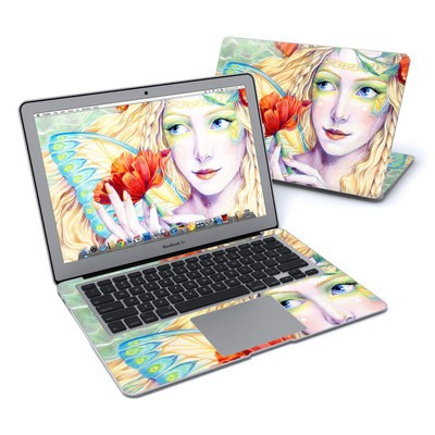 MacBook Air 13in Skin - Light of the Poppy