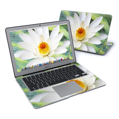 MacBook Air 13in Skin - Liquid Bloom