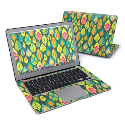 MacBook Air 13in Skin - Little Leaves