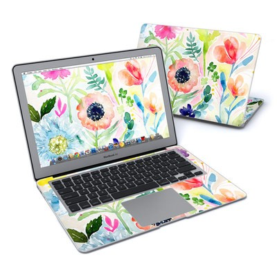 MacBook Air 13in Skin - Loose Flowers
