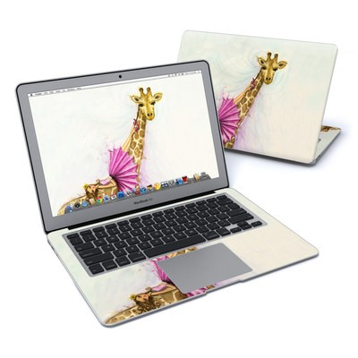 MacBook Air 13in Skin - Lounge Giraffe