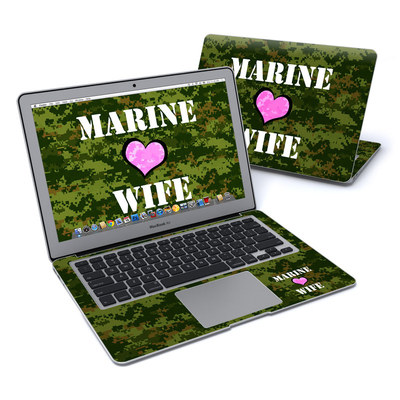 MacBook Air 13in Skin - Marine Wife
