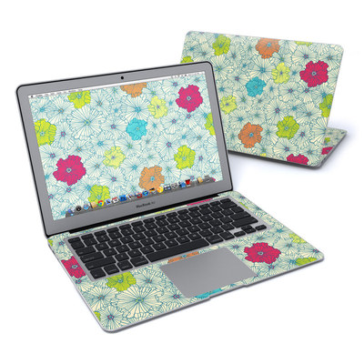 MacBook Air 13in Skin - May Flowers