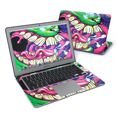 MacBook Air 13in Skin - Mean Green