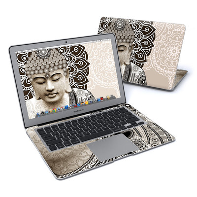MacBook Air 13in Skin - Meditation Mehndi