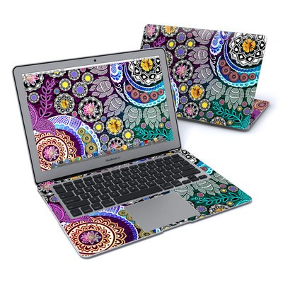 MacBook Air 13in Skin - Mehndi Garden