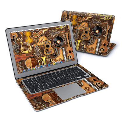 MacBook Air 13in Skin - Music Elements