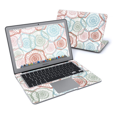 MacBook Air 13in Skin - Micro Flowers