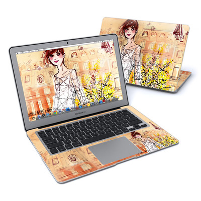 MacBook Air 13in Skin - Mimosa Girl