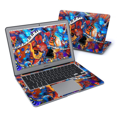 MacBook Air 13in Skin - Music Madness