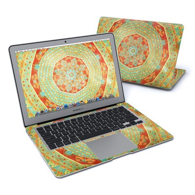 MacBook Air 13in Skin - Mandala Citrus