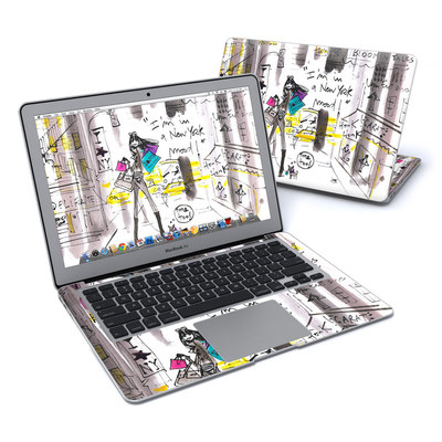 MacBook Air 13in Skin - My New York Mood