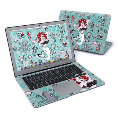 MacBook Air 13in Skin - Molly Mermaid
