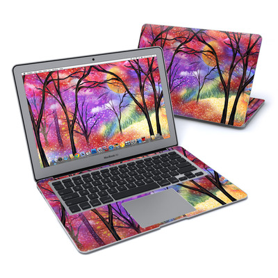 MacBook Air 13in Skin - Moon Meadow