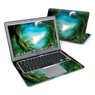 MacBook Air 13in Skin - Moon Tree