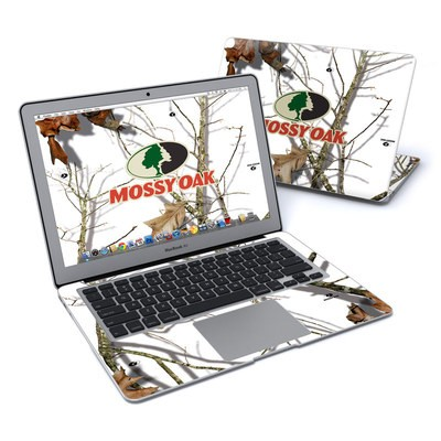 MacBook Air 13in Skin - Break-Up Lifestyles Snow Drift