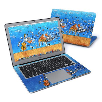 MacBook Air 13in Skin - Music is Power