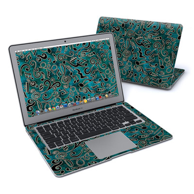 MacBook Air 13in Skin - Music Notes