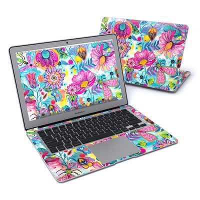 MacBook Air 13in Skin - Natural Garden