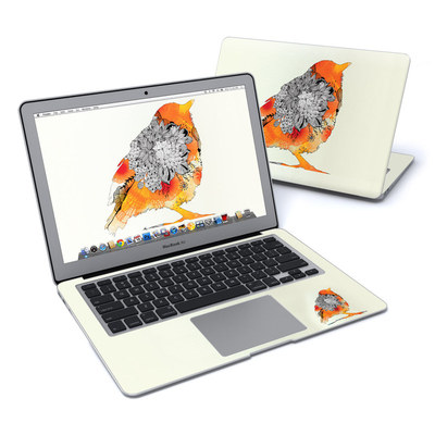 MacBook Air 13in Skin - Orange Bird