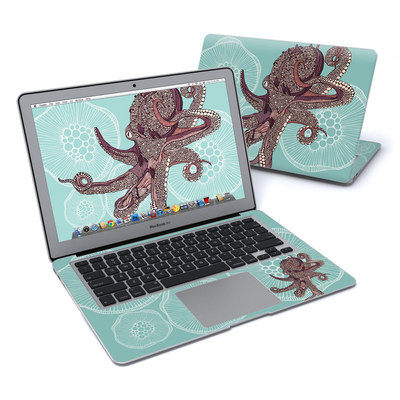 MacBook Air 13in Skin - Octopus Bloom
