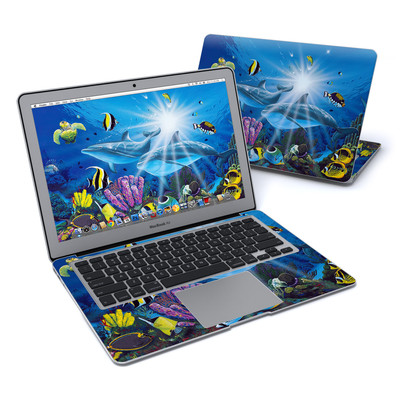 MacBook Air 13in Skin - Ocean Friends