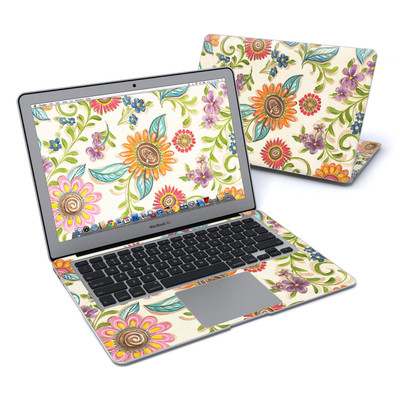 MacBook Air 13in Skin - Olivia's Garden
