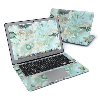 MacBook Air 13in Skin - Organic In Blue