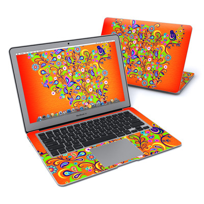 MacBook Air 13in Skin - Orange Squirt