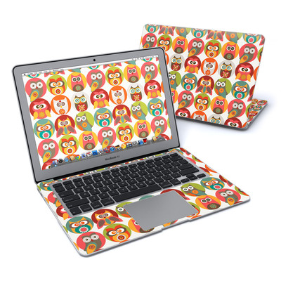 MacBook Air 13in Skin - Owls Family