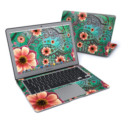 MacBook Air 13in Skin - Paisley Paradise