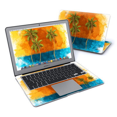 MacBook Air 13in Skin - Palm Trio