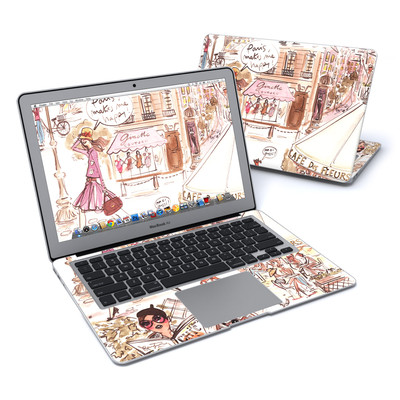 MacBook Air 13in Skin - Paris Makes Me Happy