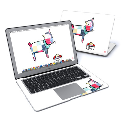 MacBook Air 13in Skin - Patch Dog