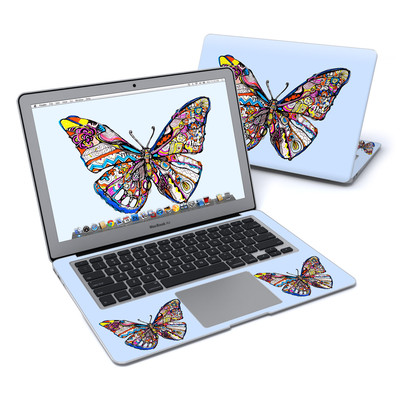 MacBook Air 13in Skin - Pieced Butterfly
