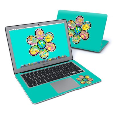 MacBook Air 13in Skin - Peace Flower