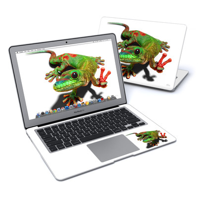 MacBook Air 13in Skin - Peace Gecko