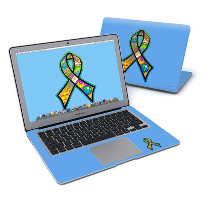 MacBook Air 13in Skin - Peace Ribbon