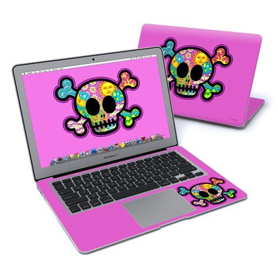 MacBook Air 13in Skin - Peace Skull